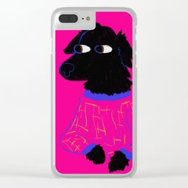 God's Most Beautiful Creature in Pajamas Clear iPhone Case