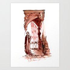 Shylock - Merchant of Venice - Shakespeare Art Print