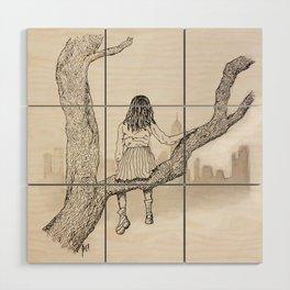 Climb Wood Wall Art