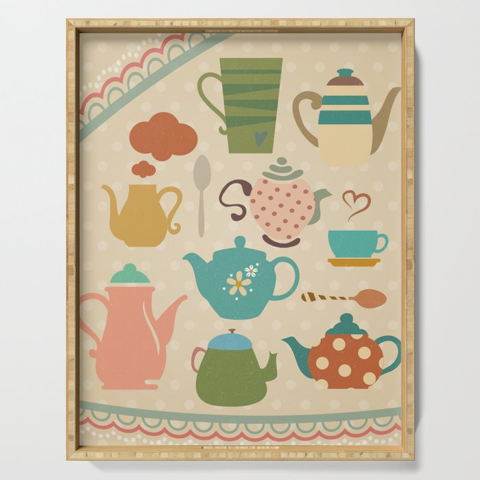 Tea Party Serving Tray