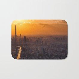 Tianjin City at Sunset Bath Mat