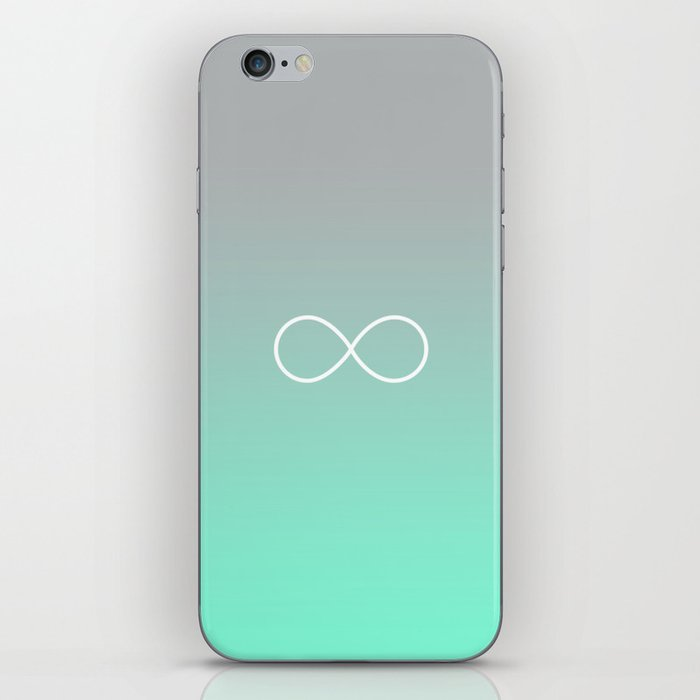Tiffany Fade Infinity Symbol Iphone Skin By Rexlambo Society6