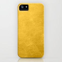 Sunshine Gold iPhone Case