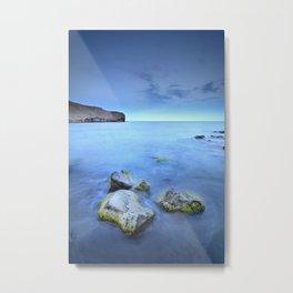 """Blue sunset"". Cabo de Gata Natural Park Metal Print"