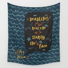 Deadlines. Percy Jackson Wall Tapestry