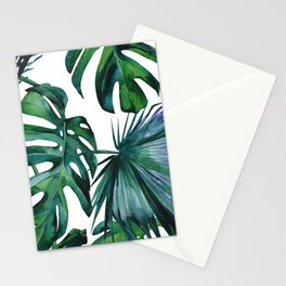 Tropical Palm Leaves Classic II Stationery Cards