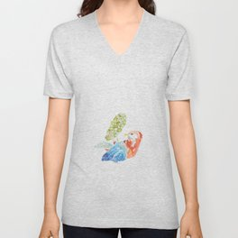 Gustavo: the bird Unisex V-Neck