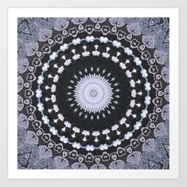 openwork lace Art Print