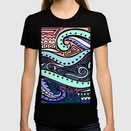 Crashing Waves During Day T-shirt