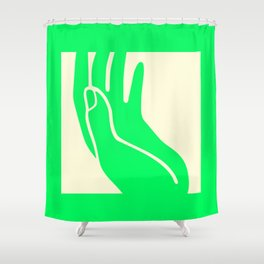 Holy hand Shower Curtain
