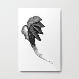 Shelled Root Metal Print