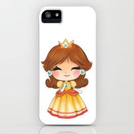 Orange Princess Plumber's collection iPhone Case