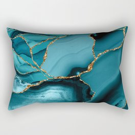 Iceberg Marble Rectangular Pillow