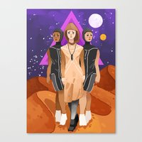 arrakis Canvas Prints featuring Bene Gesserit by Theresa O'Reilly