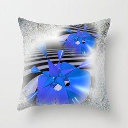 Les fleurs de la mathématique -7- Throw Pillow