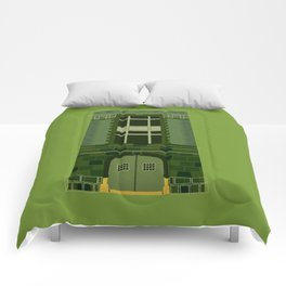 Ghostbusters HQ Comforters
