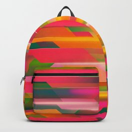 Abstract Colorful Pattern Backpack