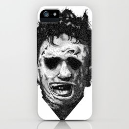 Leatherface iPhone Case