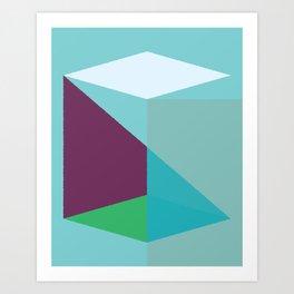 Cacho Shapes LXXVIII Art Print