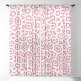 Experimental pattern 18 Sheer Curtain
