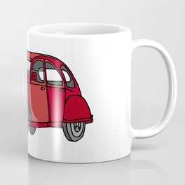 2CV french oldtimer car Coffee Mug