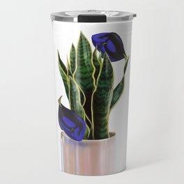Blue Tang & Snake Plant Travel Mug
