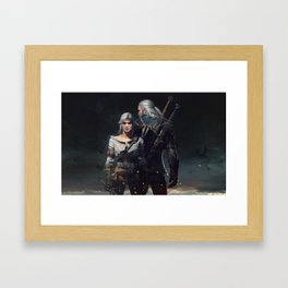The Witcher 3 Framed Art Print