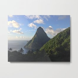 The Big Piton in St. Lucia Metal Print