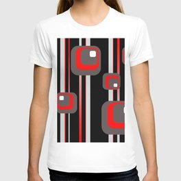 Vintage Retro Graphic black T-shirt