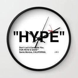 """HYPE"" Wall Clock"
