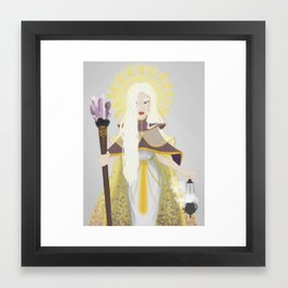 Religious Witch Framed Art Print