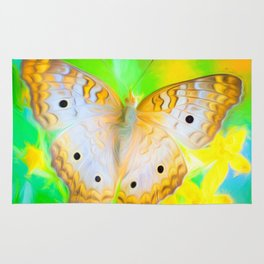 Sunshine Butterfly Rug