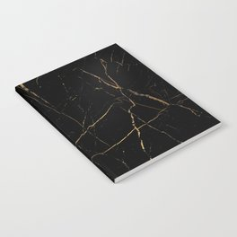 Black and gold marble Notebook