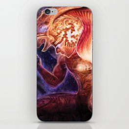Neolithic Man (Astral Waves CD cover) iPhone Skin