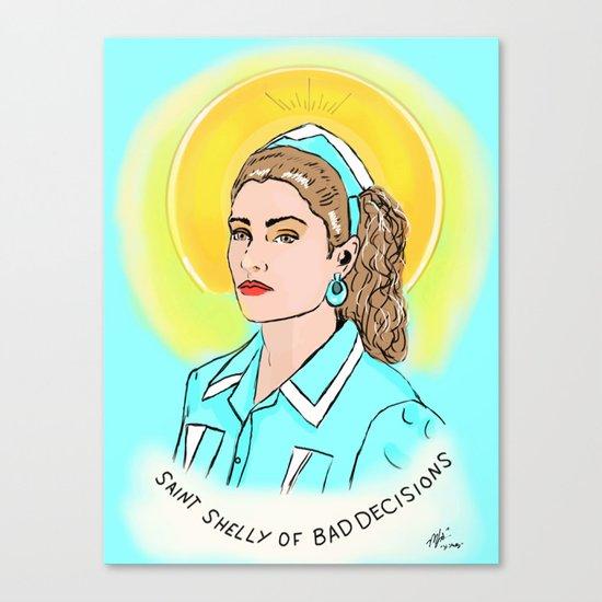 St. Shelly Canvas Print