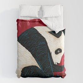 The Panda and the Butterfly Comforters
