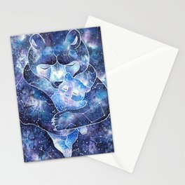 Ursa Major and Ursa Minor Stationery Cards