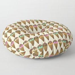 Ice Cream Shoppe Floor Pillow