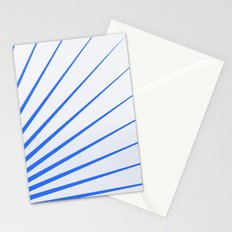 Blue rays Stationery Cards