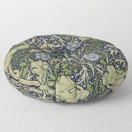 William Morris Seaweed Pattern Floor Pillow
