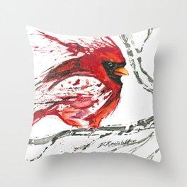 Cardinal Direction Throw Pillow