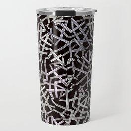 lines pattern fill Travel Mug