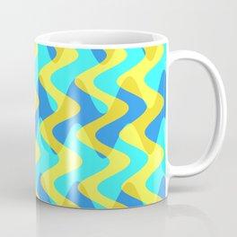 Crosswave Yellow - Electron Series 001 Coffee Mug