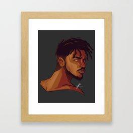 Erik Killmonger Framed Art Print