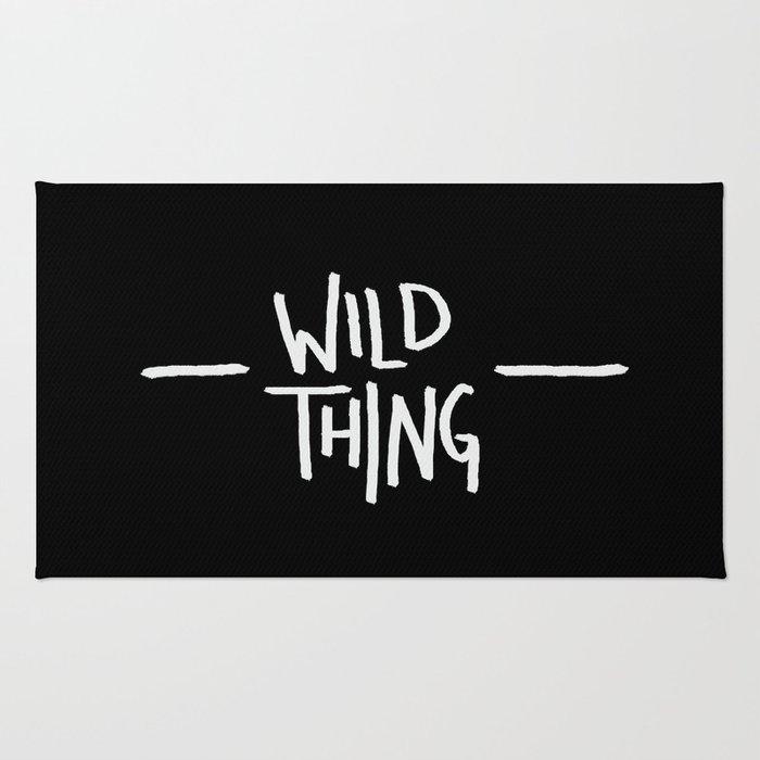 Wild Thing: Skagit Valley, Washington Rug
