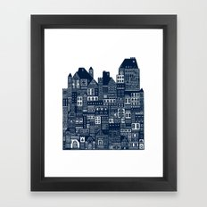 The Long Hall Framed Art Print