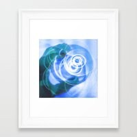 cup Framed Art Prints featuring Cup by ONEDAY+GRAPHIC