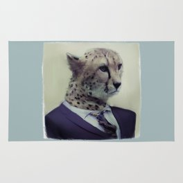 cheetah business Rug