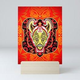 God of Malevolence Mini Art Print