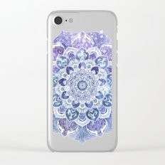 FREE YOUR MIND in Blue Clear iPhone Case